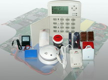 Long distance GSM alarm system (compatible with CMS)