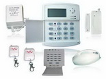 40 Defence Zones LCD Display Voiced Intelligent Burglar Alarm System (Wireless&Wired)